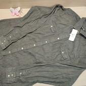 Польша!!! Стильная женская рубашка под джинс! Л размер!