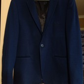 фирменный темно- синий пиджак A/ X. размер л. Не секонд и сток!