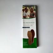 Lidl, Німеччина❤ ортопедичні гелеві устілки - антиковзаючі, розмір 36-37 * 23,5 см