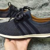 Удобные туфли-мокасины для мужчин