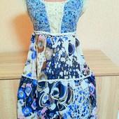 Нежное платье, made in Itali
