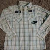 Рубашечка в идеале Коттон 128-134 см!