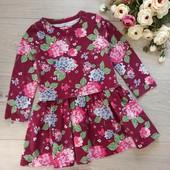 Платье для девочки 18-24мес. F&F. Хорошее состояние