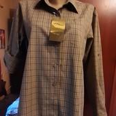Новая женская рубашка Вlaser, разм. 38 (М). Сток. 100% коттон.