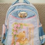 Рюкзак школьный ортопедический kite popcorn bear 14л, со светоотражателями