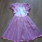 ❤ Нарядное, нежное платье. Болеро съёмное ❤