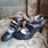 Лот 3 пары сразу! Женские туфли Chanel, производитель Франция. р.38-23,5 см.