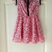 Новое платье Matalan на девочку 6 - 7 лет