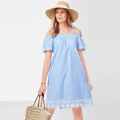 ☘ Шикарное платье из органического хлопка с вышивкой от Tchibo(Германия), размер наш 48/50(42 евро)