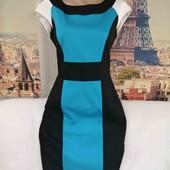 Платье контрастных цветов, Marks&Spencer, размер М