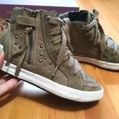 100% кожа! Хайтопы ботинки сапожки Geox Respira 31р, оригинал