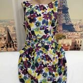 Красивое, лёгкое платье из шёлка, South, размер XL.