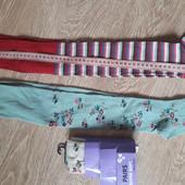 Набор, колготы для девочки (3 шт.) george, размер 5-6 лет, смотрите замеры на фото.