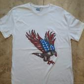 Не пропустите!мужская футболка из хлопка!Турция!р-р-М Замеры