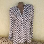 Роскошная блуза из плотного шифона M&S, сток эксклюзив!