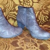 Весенние ботиночки Gabor, 39р,стелька 25,3 см
