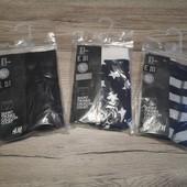 Германия! H&m, 3 шт. В лоте, размер М, полномерные, каждые упакованы!