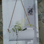 Дизайнерское кашпо подвесное для растений Melinara