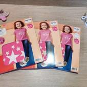 Германия!!! Лот из классной коттоновой футболки для девочки! 86/92, 98/104, 110/116!