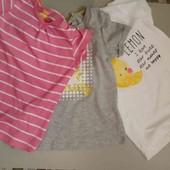 Lupilu набор футболок для девочки 110-116 см