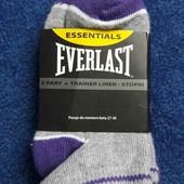 Носки для девочки. Everlast. В лоте 2 пары. Размер 27-30.