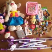 Лот іграшок для дівчинки