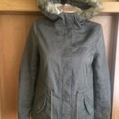 Куртка. парка, внутри шерпа, демисезон, размер 14-16 лет 165 см. H&M Divided