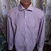 Мужская рубашка в полоску giovanni