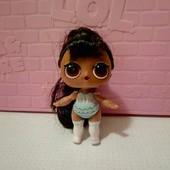 кукла лол , с волосами оригинал!меняет цвет