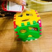 Куб сортер-конструктор. Развиваемся играя)))