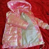 Куртка для девочки д/с, 110-122 см