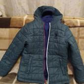 Фирменная 2-х стороння куртка, 5-6лет, POLO