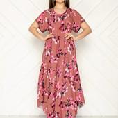 Платья в пол оверсайз с натуральной ткани