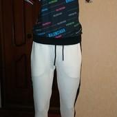 Суперский спортивный костюм для девушек, которые не бояться белого цвета)))). Турция. Смотрим замеры