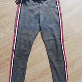 Стильные брюки лосины в школу)