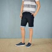 Стильные хлопковые шорты с отворотом Livergy размер 58
