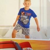 Літній костюм, можна як піжамку, розм 110/116, в упаковці, бренд lupilu германія