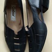 Gabor,летние туфли,кожа ,стелька от края до края 27.5 см,полнота G ,в идеале