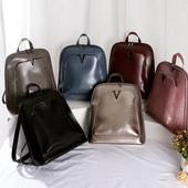 Рюкзак кож зам цвет чёрный