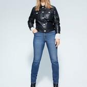 Стрейчевые джинсы slim Violeta by Mango для высоких, пышненьких модниц . В идеальнейшем состоянии.