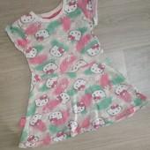 Платье Helloy Kitty на девочку 3-4 года