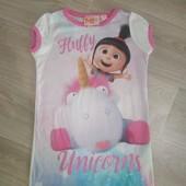 Мультяшное платье на девочку 3-4 года