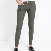 Стильные женские джинсы скинни хаки H&M