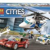 """Конструктор Bela 10656 (Аналог Lego City 60138) """"Стремительная погоня"""" 318 деталей"""