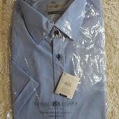 мужская элегантная рубашка с коротким рукавом от Royal Class. Германия.