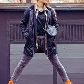 Модные, крутые джинсики H&M Divided для юных, высоких девушек.
