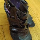 Обалденные босоножечки для Золушки! Фирма Graceland.