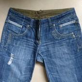 не стрейч джинсовые шорты по бедрам 110см