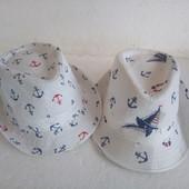 новая детская ,летняя шляпка в морском стиле.одна на выбор
