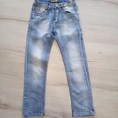Якісні джинси, чудовий стан, розмір 140.